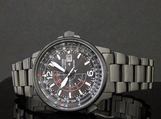 Blog de montres: Présentation de la montre Citizen Promaster BJ7019...
