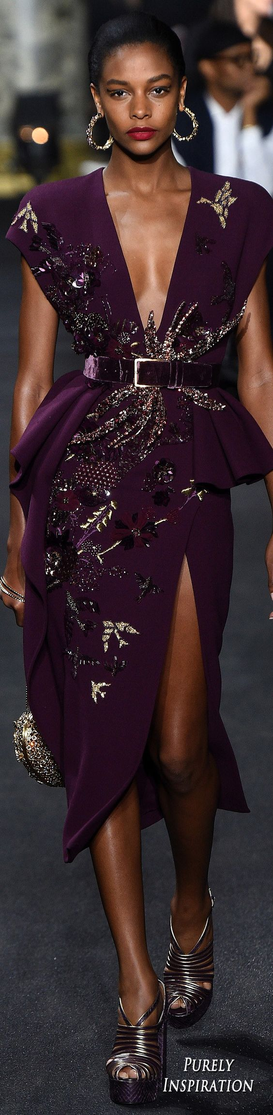 Elie Saab Fall 2016 Haute Couture | Purely Inspiration: