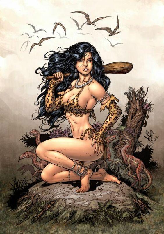 Al Rio - Cavewoman