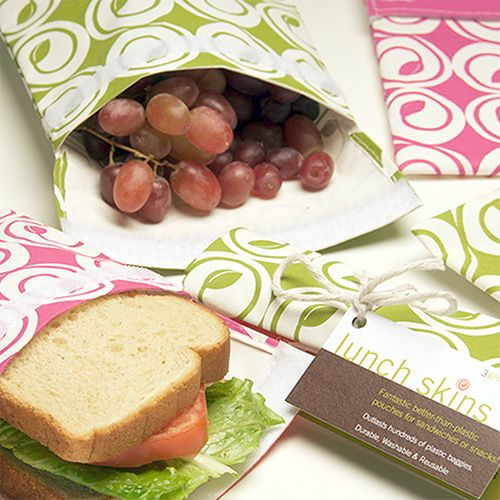 Reusable sandwich bags... need these! (And cute fabric!)