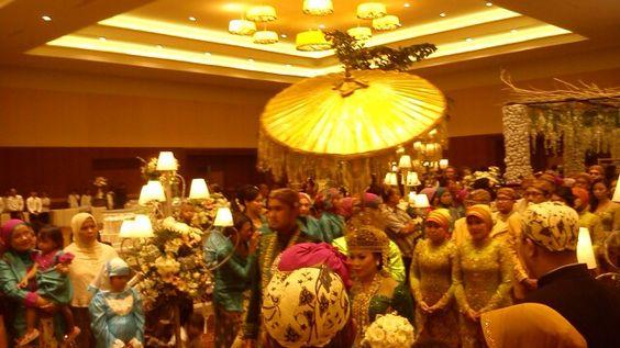 Fête de mariage en Indonésie