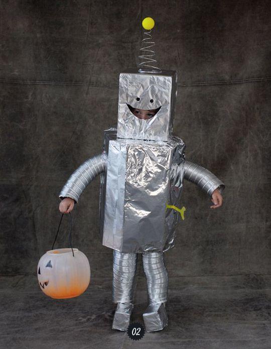Deguisement Robot Carnaval Pinterest Halloween Magazines Et Robots
