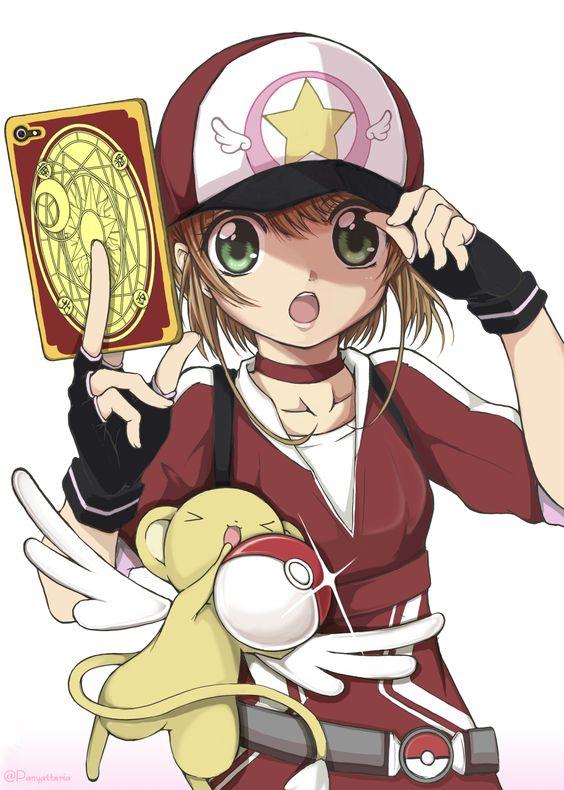 K Sakura at... Pokemon????!!!! (Cardcaptor Sakura)