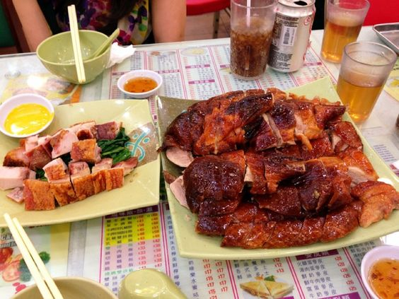 Guangdong Barbecue (only order from Chinese menu)