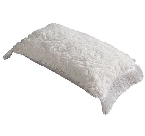 Davinci Liliana 30x40cm Filled Cushion Snow