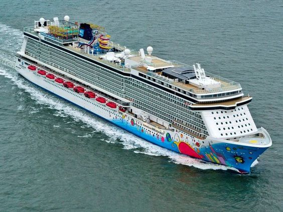 Built at the Meyer Werft shipyard in Papenburg, Germany, the 146,600-ton Norwegian Breakway is the largest cruise ship ever built in the country. At 1,062 feet, it's longer than three football fields, and it has 18 decks.