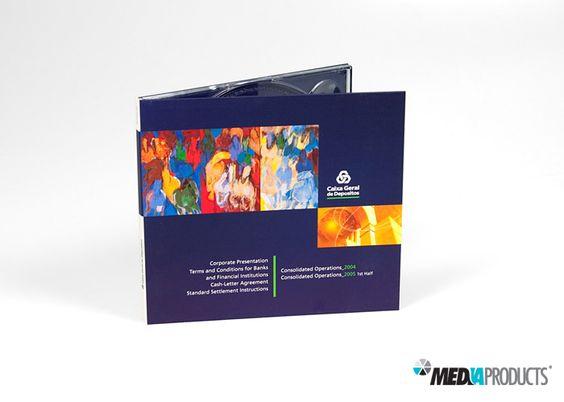 CD fabricado para a Caixa Geral de Depósitos.