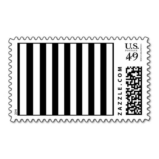 Artistic Abstract Retro Stripes Lines White Black Stamps How totoday easy to Shops & Purchase Online - transferred directly secure and trusted checkout...