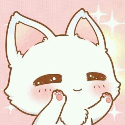 Adorable Cute Kawaii Animals Anime Kitten