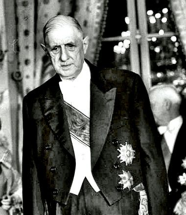 Frtance. Charles de Gaulle resigns as president of France,  April 28, 1969