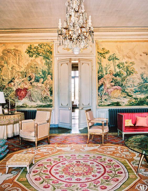 Décor Inspiration: Places: Château du Fresne, France