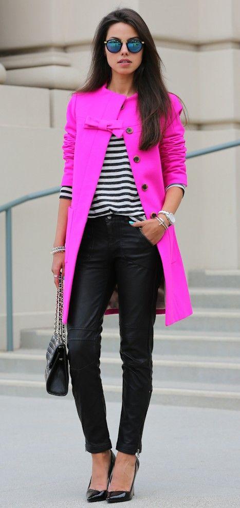 streetstyle fuchsia ♥✤ | Keep the Glamour | BeStayBeautifu