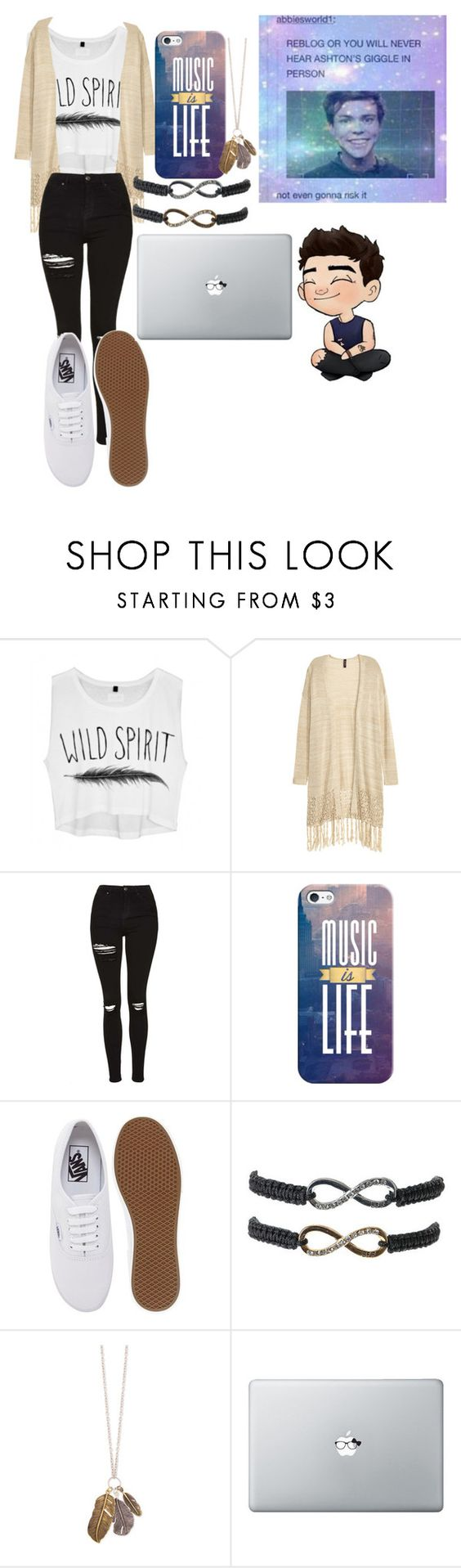 """18"" by chichipie ❤ liked on Polyvore featuring beauty, Topshop, Casetify and Vans"