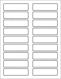 word labels template - Template