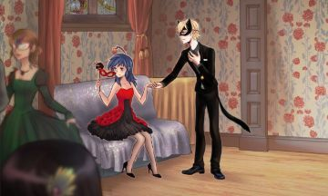 Una Historia De 3 (Marinette, Adrien, Felix) - La noche del baile ...
