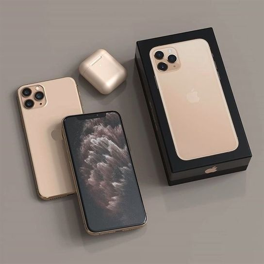 Apple Iphone 11 Pro Max 512gb Gold Factory Unlocked In 2020