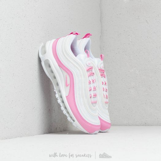 Nike W Air Max 97 Ess White Psychic Pink in 2019 | Air max