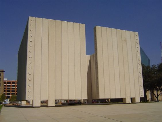 JOHN FITZGERALD KENNEDY (JFK) memorial Dallas Texas USA.