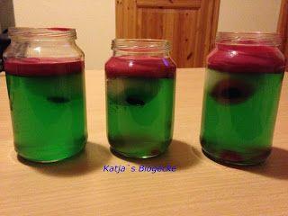 Katja's Blogecke: Eingelegte Augen - Halloween Spezial