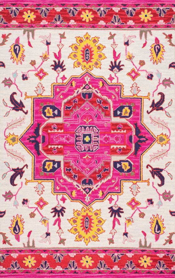 Pretty and pink! This is Rugs USA