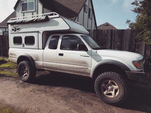 Tradesman Truck Tops Commercial Style Topper Shell Slide In Truck Campers Truck Topper Camping Truck Top