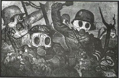 Gas Attack - Otto Dix