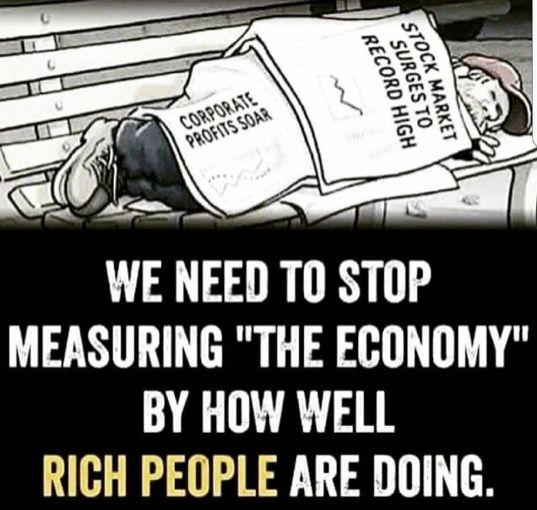 #eattherich #trickledown #theeconomy #dumptrump #impeachtrump