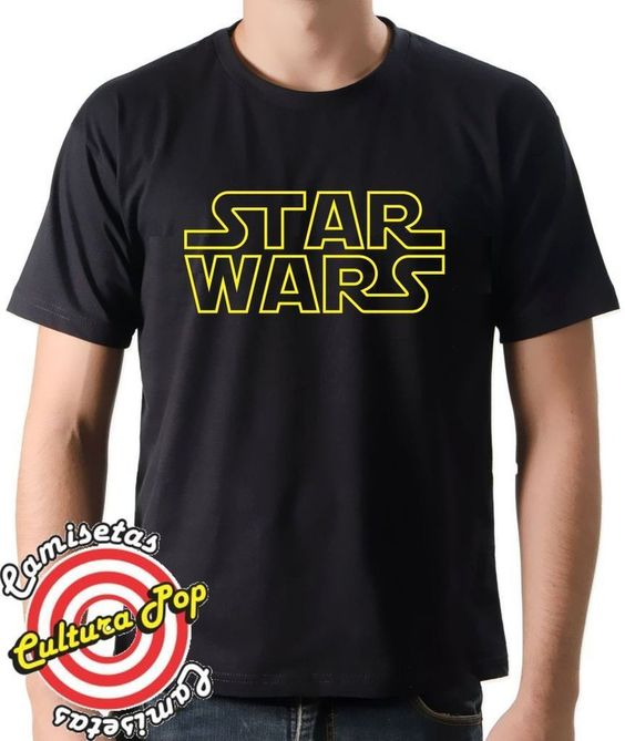 Camiseta Estampada Filmes Trilogia Star Wars.