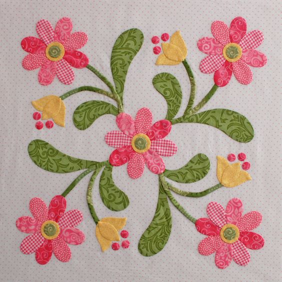 Erin russek one piece at a time free applique pattern applique pinterest beautiful - Appliques exterieures ontwerp ...