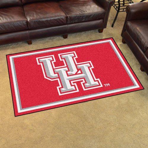 University of Houston 4x6 Rug