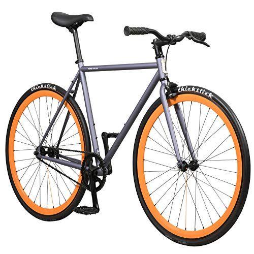 Cheap Pure Fix Original Fixed Gear Single Speed Bicycle Papa Grey