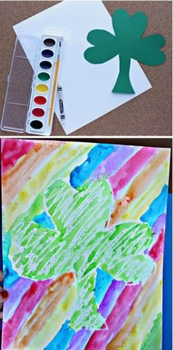 st Patrick's day art project