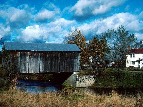 The Rustic Northfield VT   Scribner Bridge, Johnson, Vermont.jpg