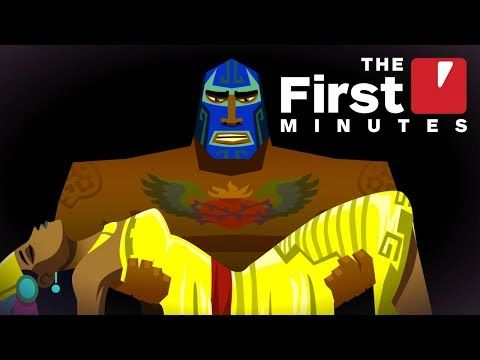 The First 9 Minutes Of Guacamelee 2 The One Free Games Luchador