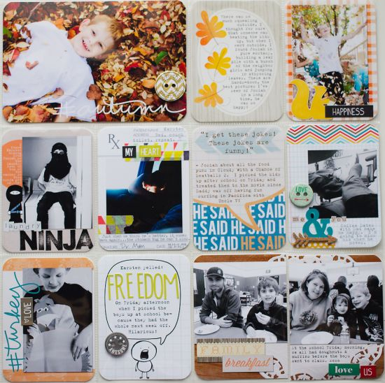Hybrid Project Life Scrapbooking tips