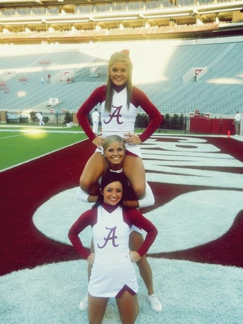 bama is cheeleader is what i strive for!