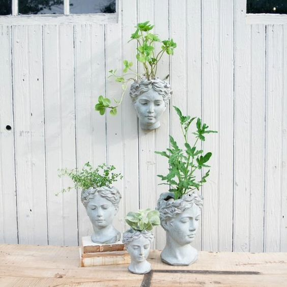 Goddess Planters – Life's Patina