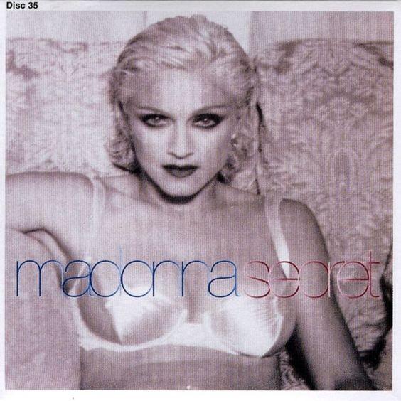 Madonna – Secret (single cover art)