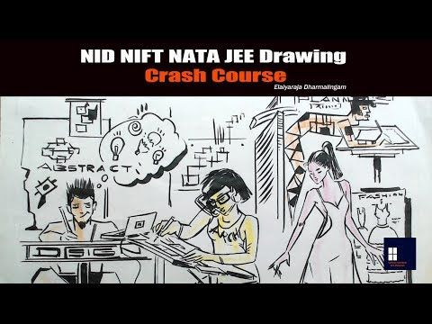 Nid Nift Nata Jee Sketching Lessons Crash Course Youtube With