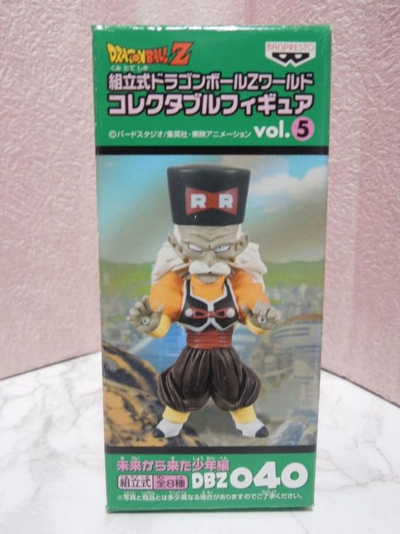 New Dragon Ball Vol.5 040 DWC World Collectable Android 20 Figure Mega Rare
