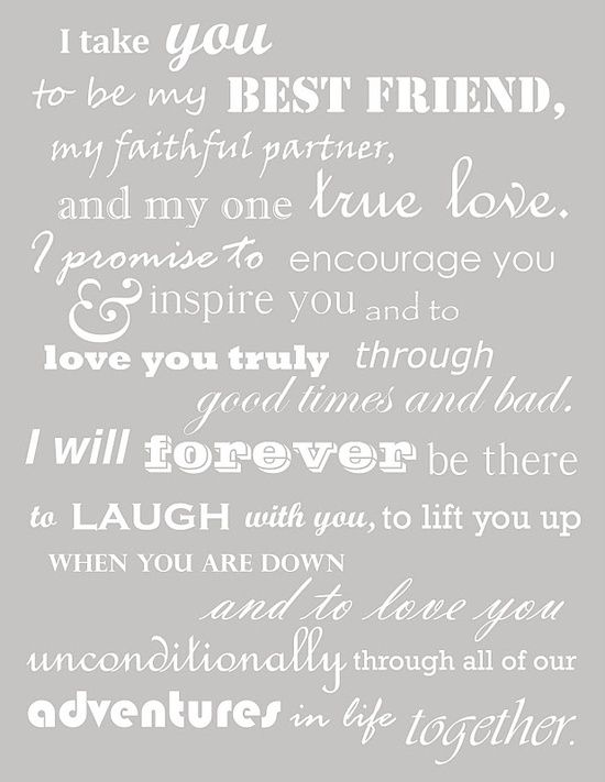 Best 25 Christian Wedding Vows Ideas On Pinterest