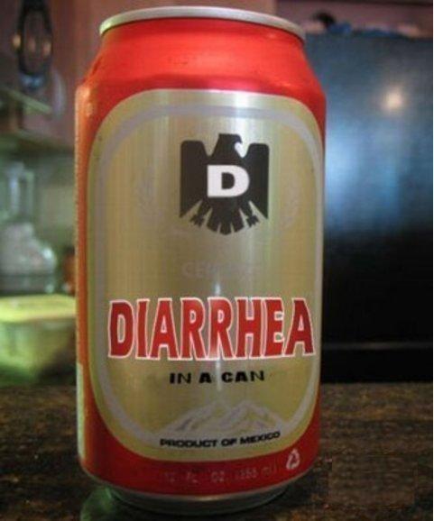 Não beba qualquer coisa, as consequências podem ser desagradáveis...