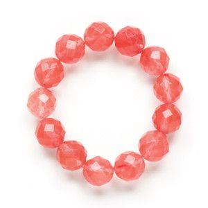 Gemstone Bracelet Cherry
