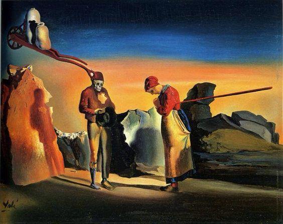 Atavism at Twilight, by Salvador Dali, 1933/34