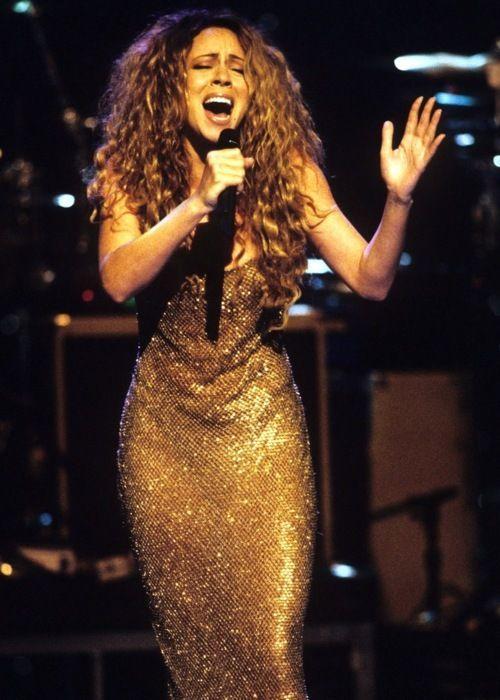 Mariah with big hair like mine mariah carey - Mariah carey diva ...