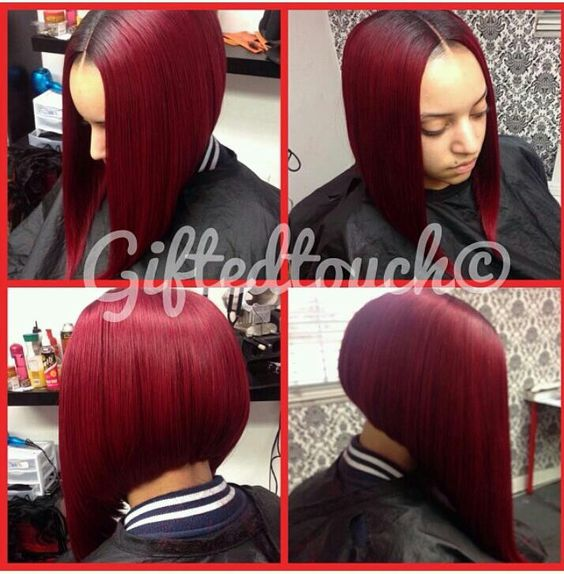 Phenomenal Bobs Colors And The O39Jays On Pinterest Hairstyles For Women Draintrainus