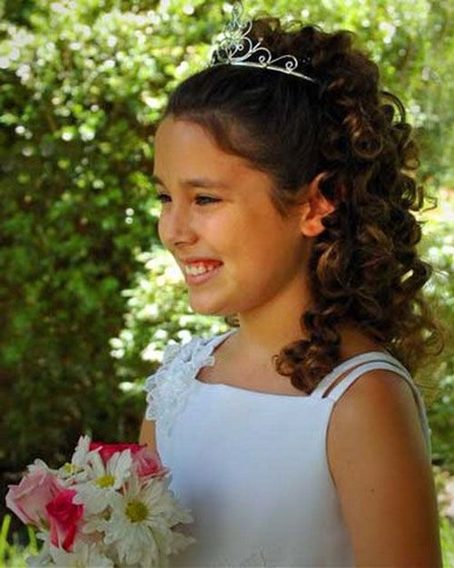 Super Bridesmaid Hairstyles Hairstyle For Long Hair And Flower Girl Hairstyles For Women Draintrainus