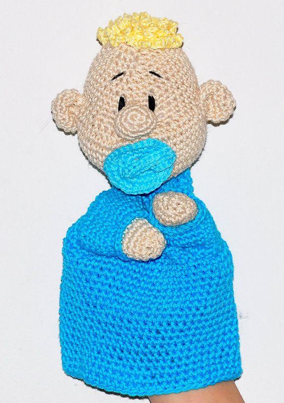 Amigurumi Doll Hands : crochet pattern amigurumi hand puppet doll by ...