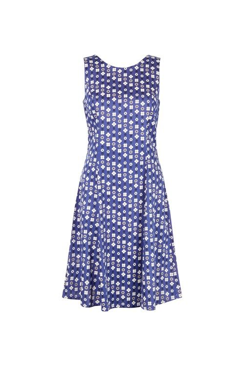 Christy Dress in Blue: