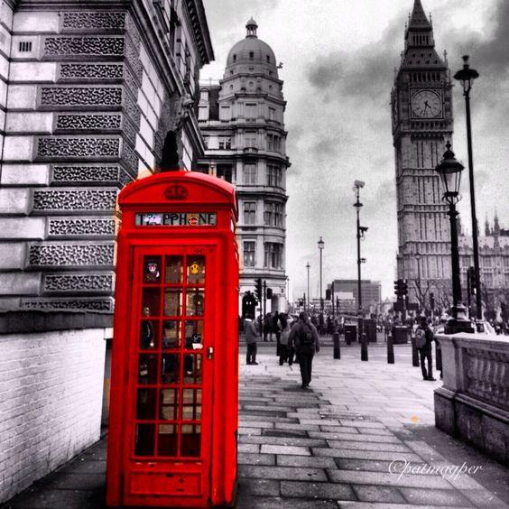 London calling - Westminster Bridge